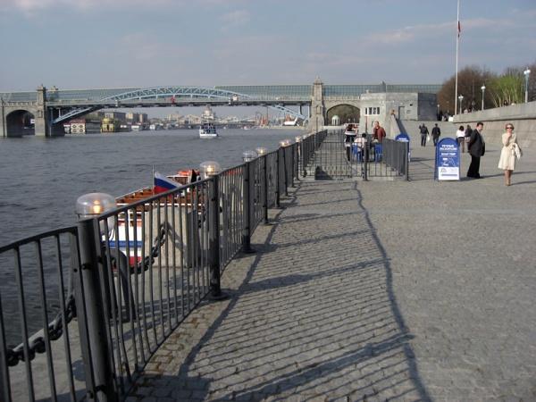 Причал новоспасский мост причал